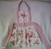 CATH KIDSTON GIRLS APRONS 2-4 YRS NEW & HANMADE USING ROSALI FABRIC
