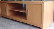 Media unit for sale light wood modern