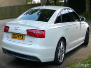 Audi A6 2.0 2012 AUDI A6 S LINE TDI IBIS WHITE ONLY 25K MILES,